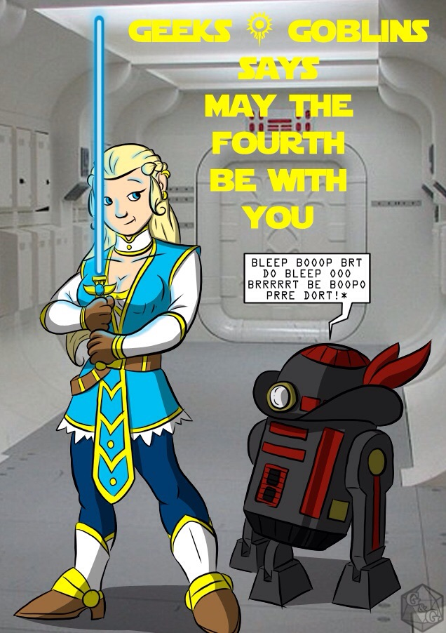 May the Fourth SW-GG Mash Up