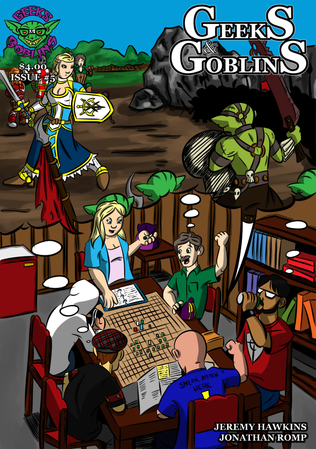Issue 5 Cover Page