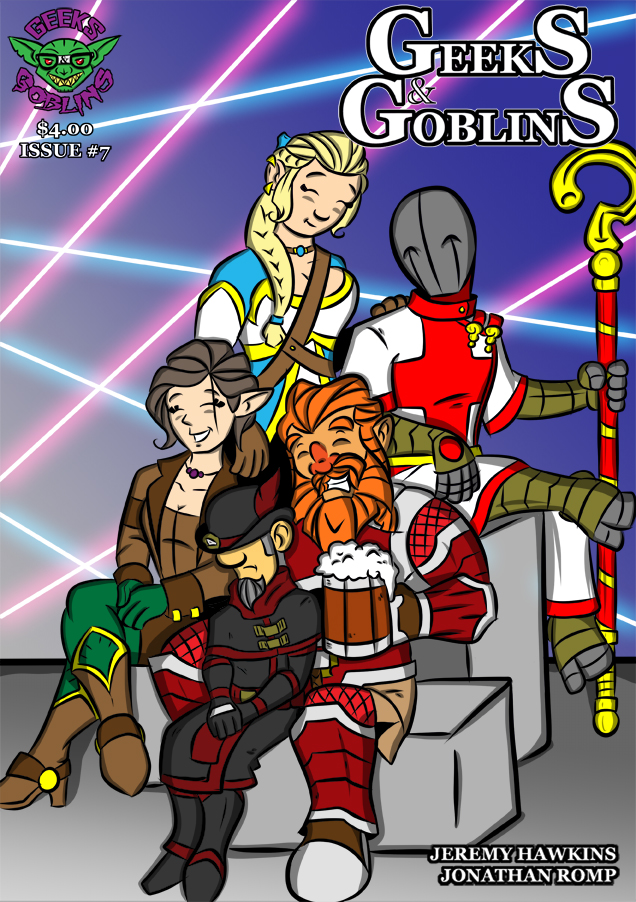 Issue 7 : Cover Page