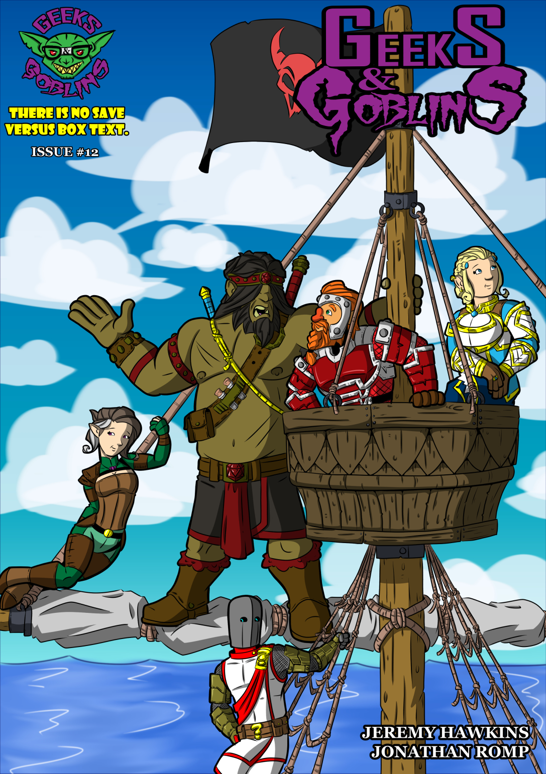 Chapter Four: Issue 12 – Cover