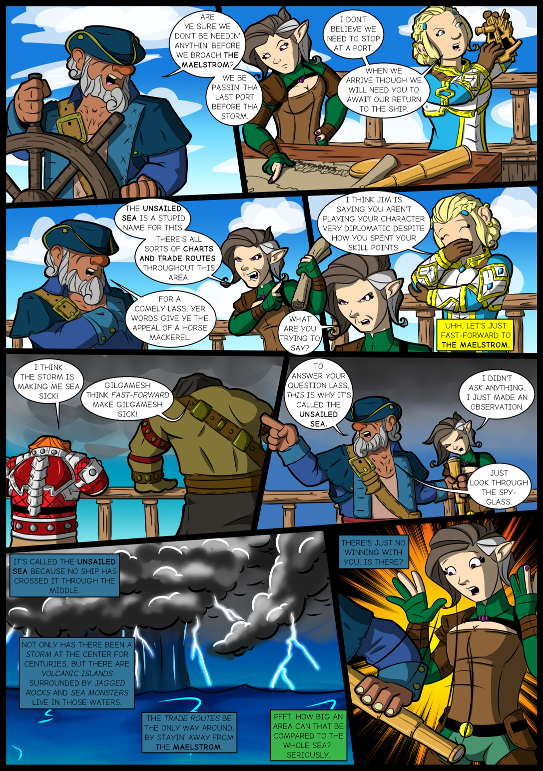 Chapter Four: Issue 12 – Page 1