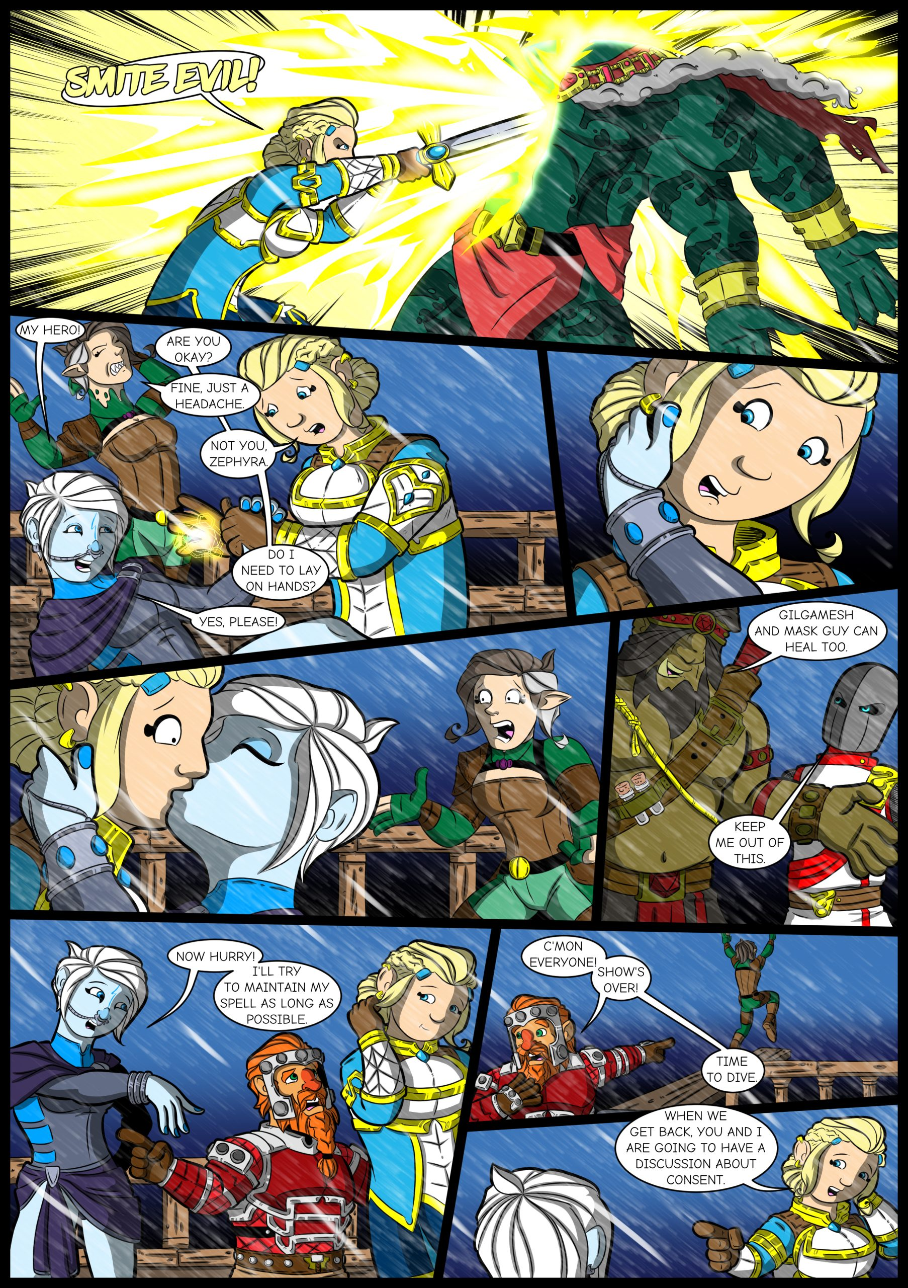Chapter Four: Issue 12 Page 22