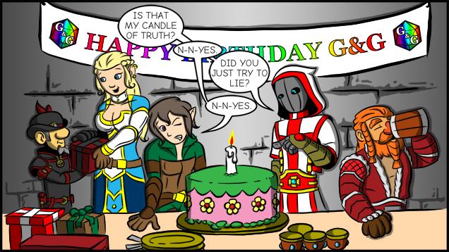 Happy 1st Birthday G&G!