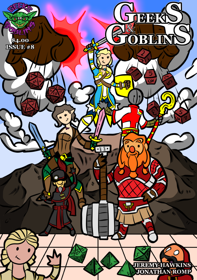 Issue 8 : Cover Page