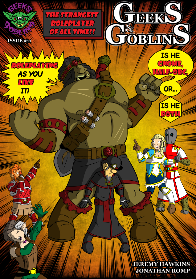 Chapter Four: Issue 11 – Cover