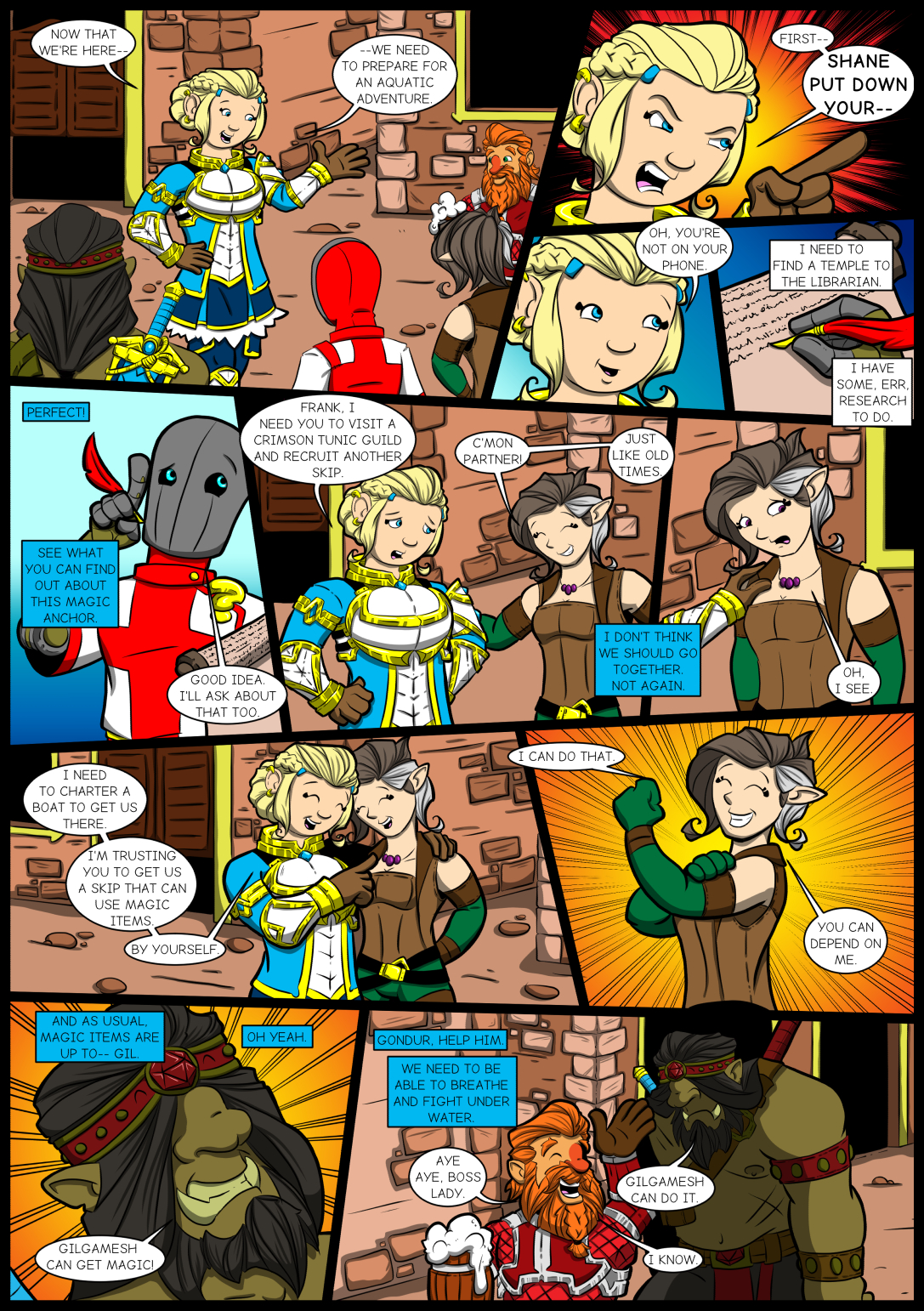 Chapter Four: Issue 11 Page 11