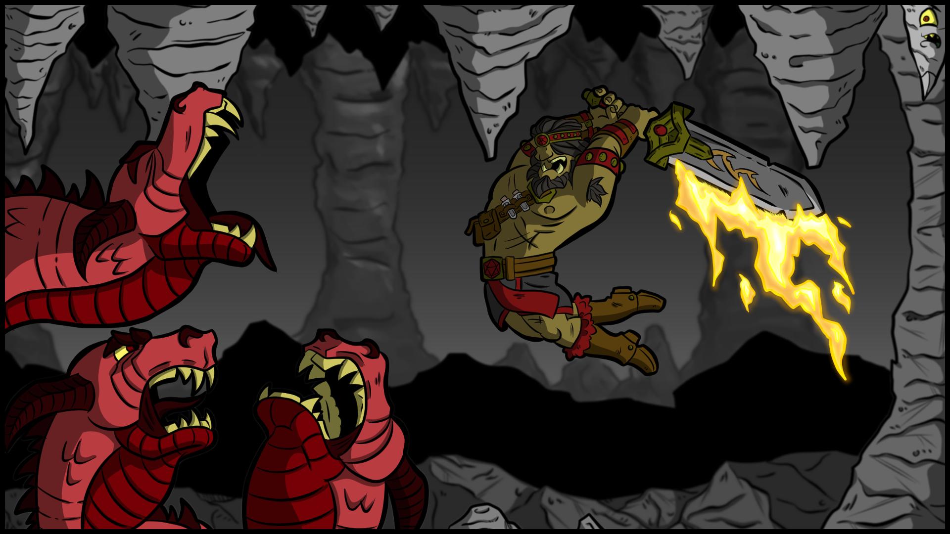 One Offs: Gilgamesh vs the Hell Hydra