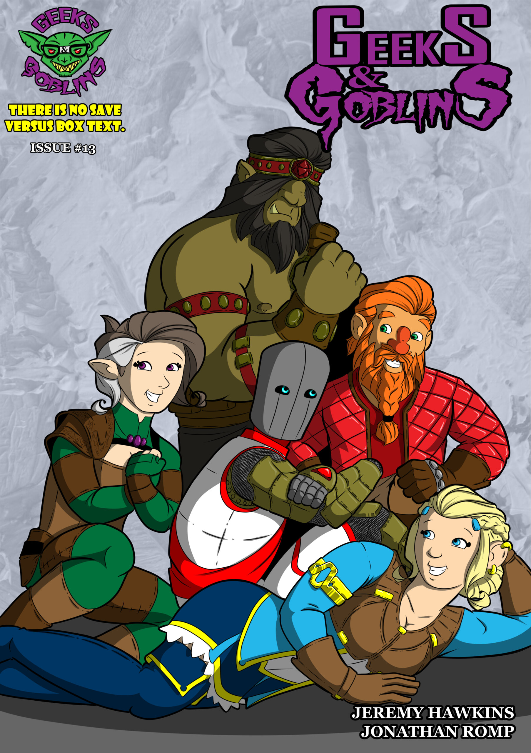 Chapter Four: Issue 13 – Cover