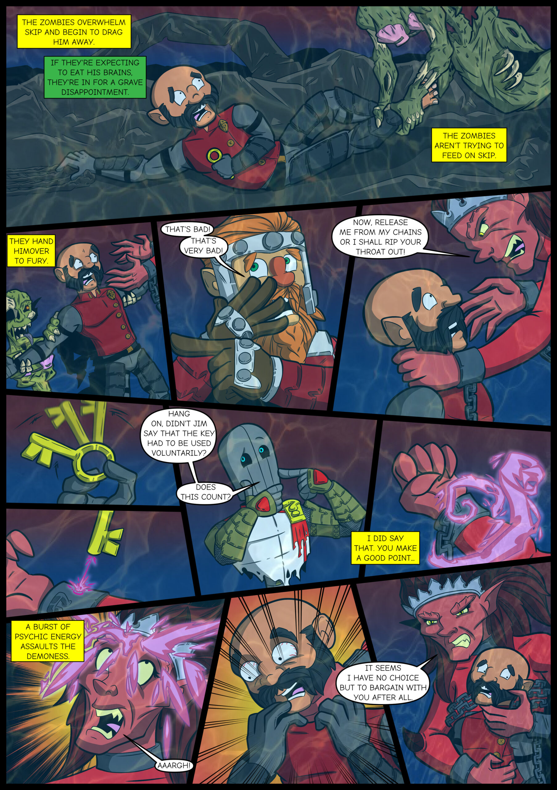 Chapter Four: Issue 13 – Page 16