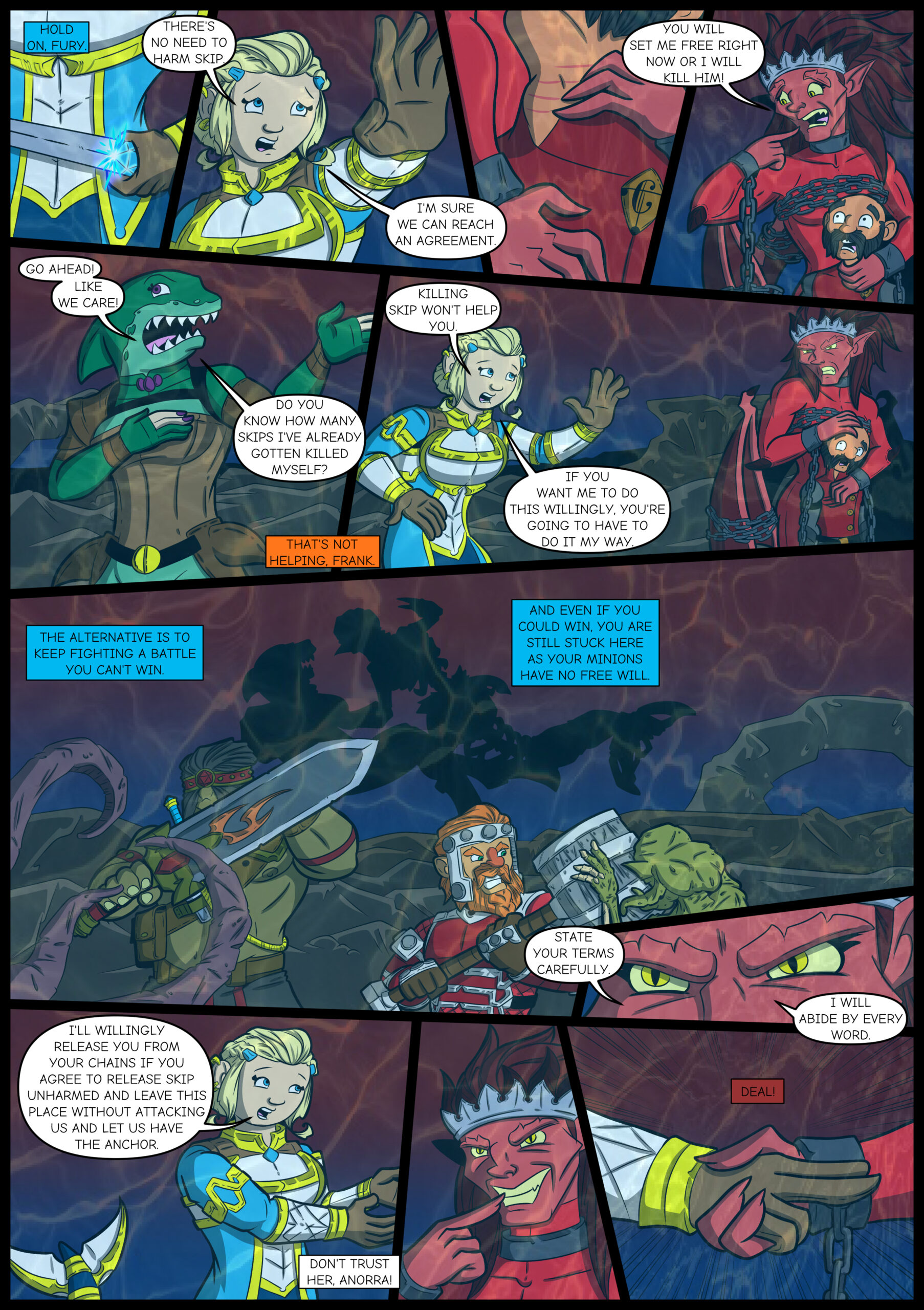 Chapter Four: Issue 13 – Page 17