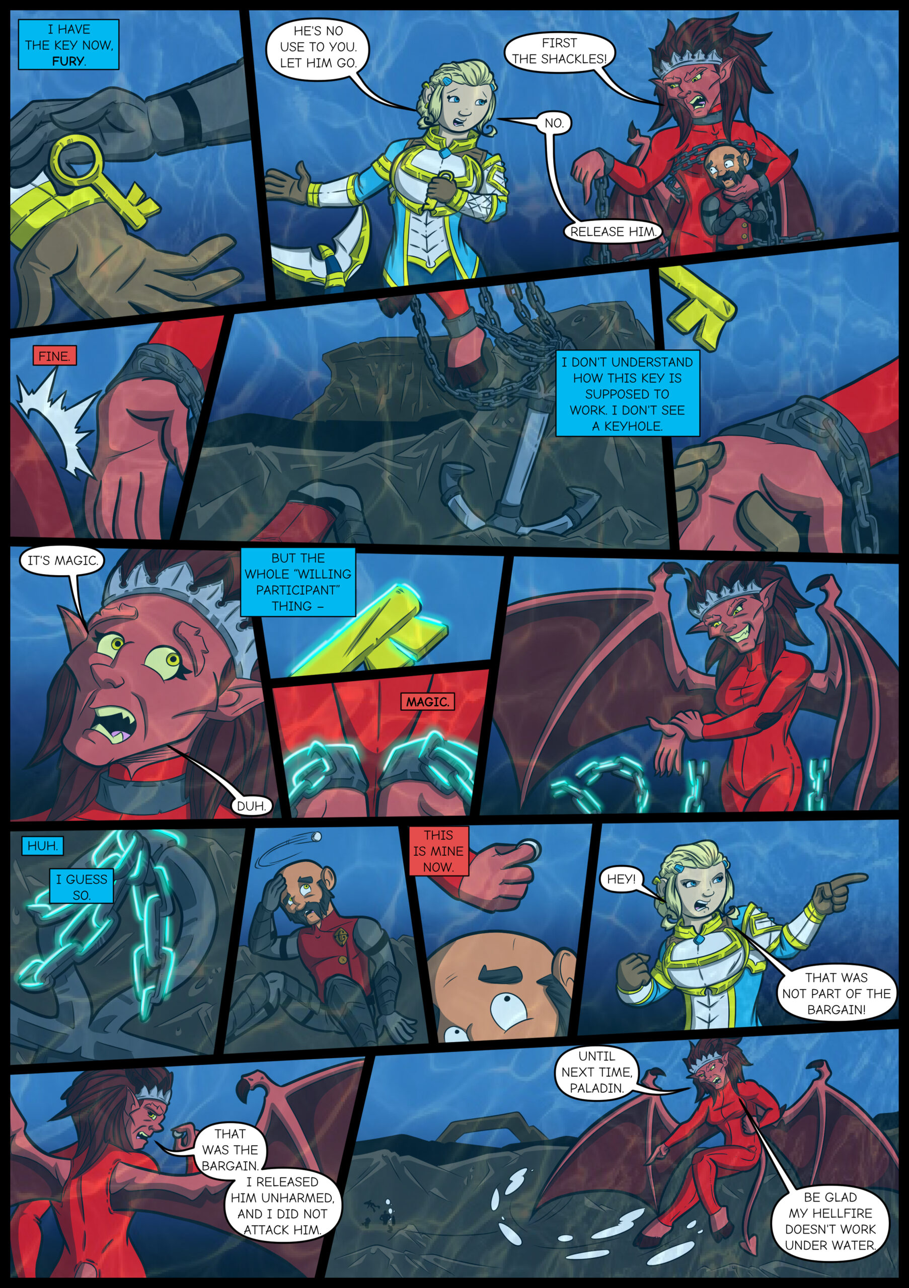 Chapter Four: Issue 13 – Page 18